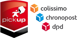 Relais Pickup, Colissimo, Chronopost, Dpd